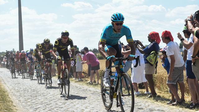 Фраиле из Astana Pro Team выиграл 14-й этап «Тур де Франс»