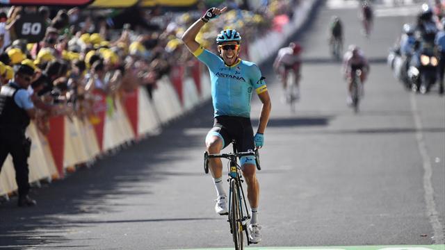 Omar Fraile'den Tour de France'ta ilk etap zaferi