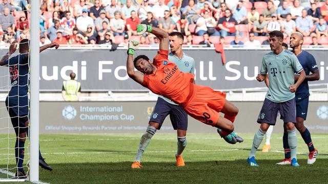 International Champions Cup 2018, Bayern-PSG: Javi Martínez inició la remontada (3-1)