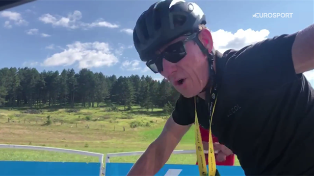 On Tour with Matt Stephens: Taking on Cote de la Croix Nueve