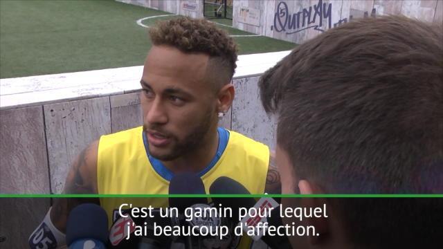 Neymar sur Mbappé : »C'est un gamin pour lequel j'ai beaucoup d'affection»