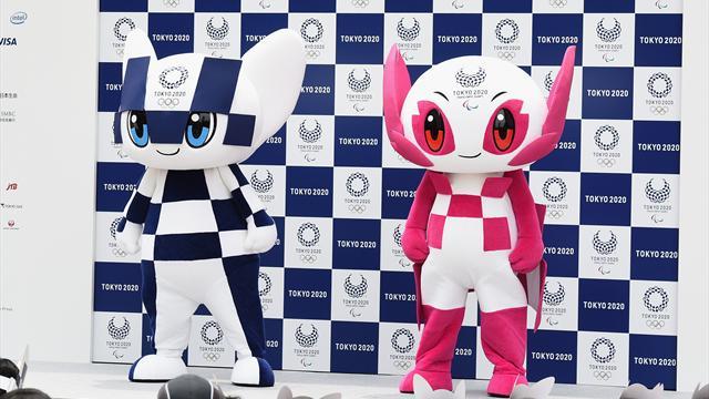 Tokyo baptise les mascottes des JO 2020