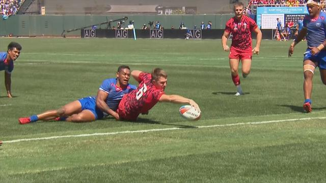 7er-Rugby-WM: Sauber abgelegt! Wales ringt Samoa nieder
