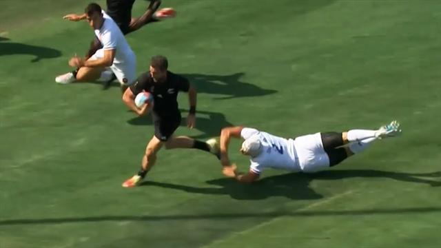 7er-Rugby-WM: All Blacks bringen Frankreich im Viertelfinale zu Fall