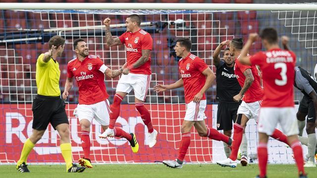 Sevilla-Benfica: Toque de atención antes de la Europa League (0-1)
