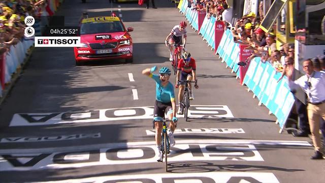 Tour de Francia 2018 (15ª etapa): Magnus Cort Nielsen priva a Ion Izagirre de la victoria