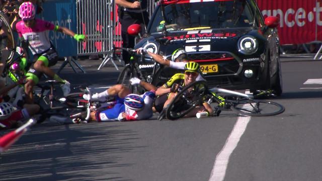 Tour de Francia 2018 (15ª etapa): La caída estrepitosa en el kilómetro final