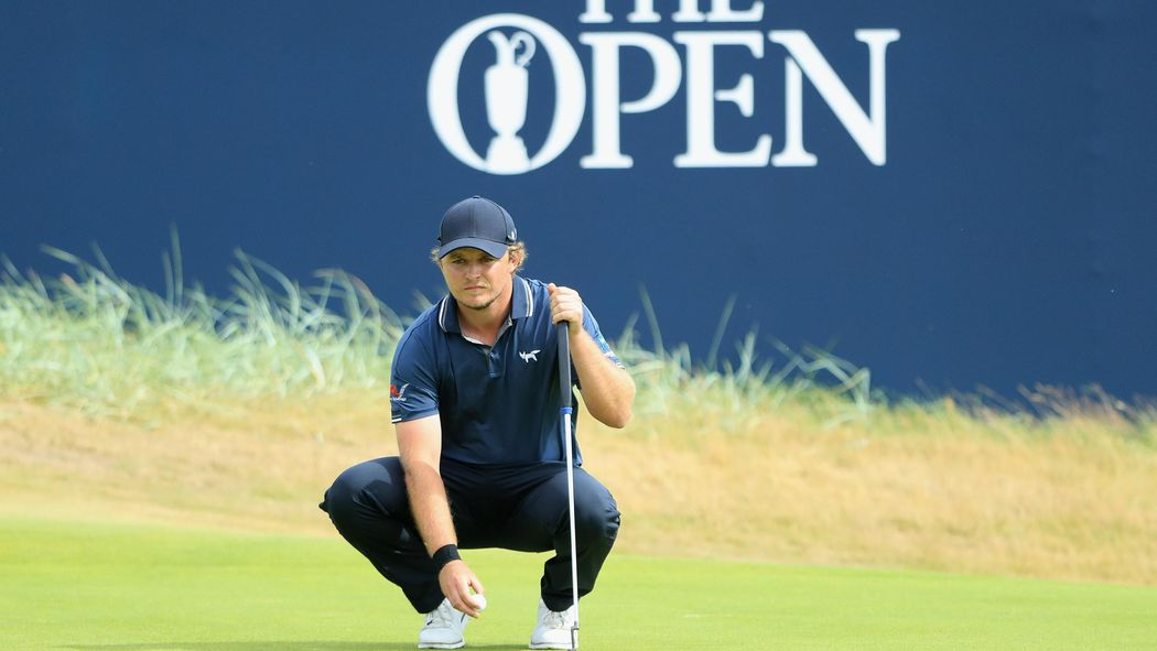 Hungover Eddie Pepperell charges up leaderboard with closing