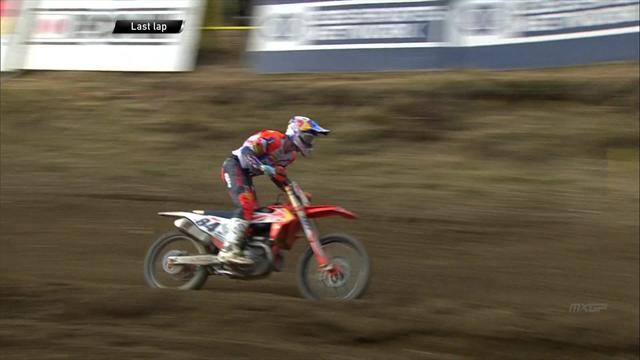 Tony Cairoli secondo anche in gara-2 in Repubblica Ceca, doppietta per Jeffrey Herlings