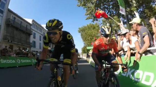 Onboard: So eng geht's bei der Tour de France im Sprint zu