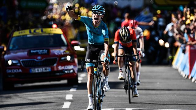 Stage 15 Highlights: Astana double up