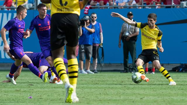 International Champions Cup 2018, Liverpool-Dortmund: Doblete de Pulisic para seguir invictos (1-3)