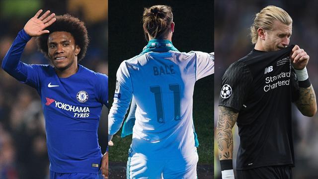 Bale, Karius y Willian, los nombres del día
