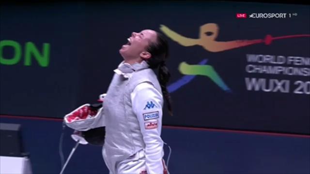 Alice Volpi campionessa del mondo di fioretto! Seconda medaglia d'oro per l'Italia