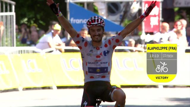 Key Moments: Stage 16 – Alaphilippe wins after mad day