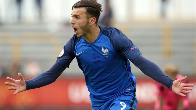 L'attaquant lyonnais Gouiri éblouit l'Euro U19