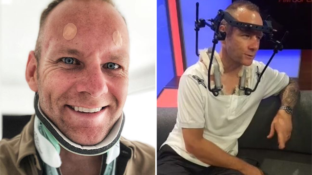 'So good to have a shower' – Shakey's relief as halo removed