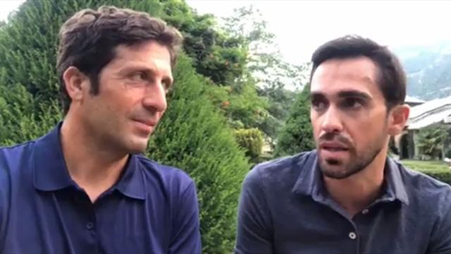 Contador, en Eurosport: Alberto sabe que todos atacarán al Sky en la última de Pirineos