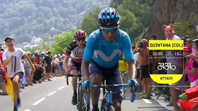 Tour de Francia (Momentos 17ª etapa): El día que tanto esperaba Nairo Quintana