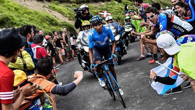 17. etapta Quintana lider