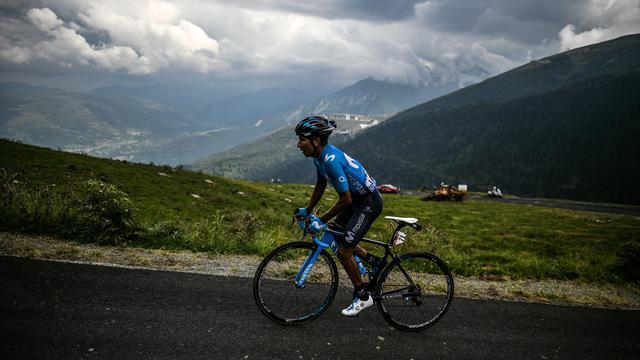 Кинтана мчал по горам резвее всех и выиграл 17-й этап, Закарин – в десятке