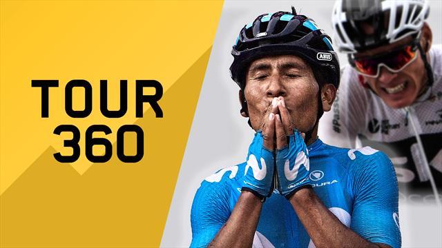 """""""Tour 360"""": Quintana attacca, Froome si stacca. Il meglio e il dietro le quinte della 17a tappa"""