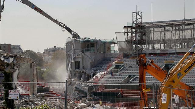La espectacular remodelación de la pista Philippe Chatrier que estará lista para 2019