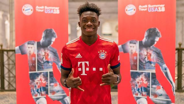«Бавария» представила 17-летнего Дэвиса, за которого заплатила рекордные для MLS 12,8 млн евро