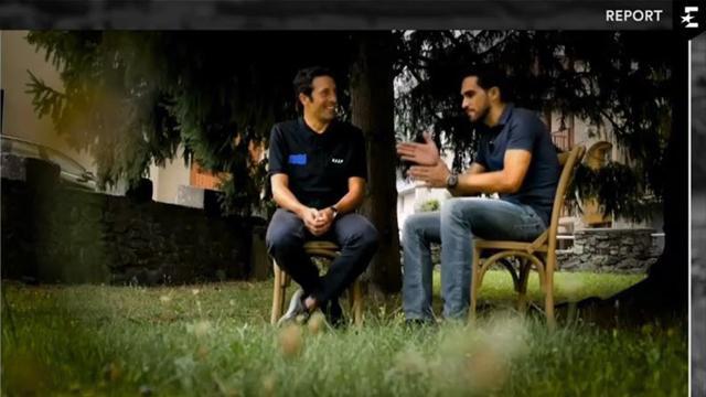 Contador en Eurosport: El Alberto más íntimo, pequeños placeres y alguna manía