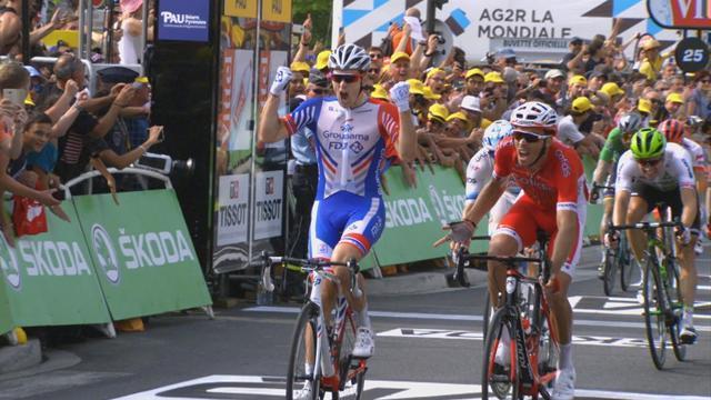 Tour de Francia 2018 (18ª etapa): Arnaud Demare gana el penúltimo esprint en Pau