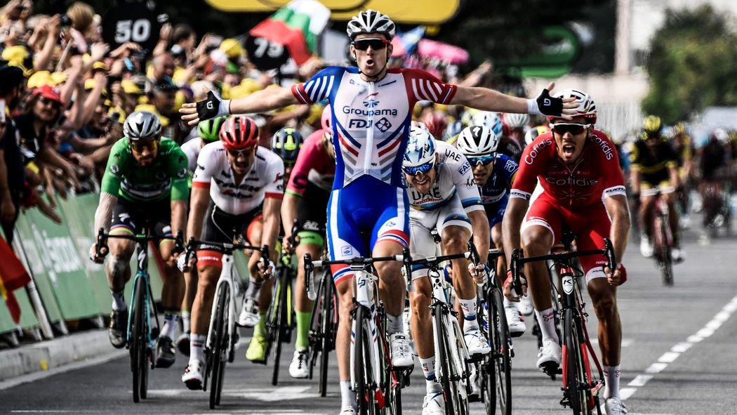 Tour de France 2018  Arnaud Demare claims Stage 18 win as Geraint Thomas  maintains grip on yellow - Tour de France 2018 - Cycling - Eurosport UK 5e179430c