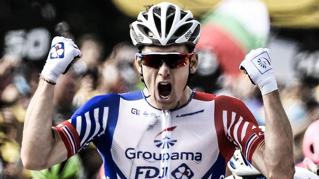 Tour de France   Arnaud Démare remporte la 18e étape au sprint devant  Christophe Laporte - Tour de France 2018 - Cyclisme - Eurosport 147cd6926