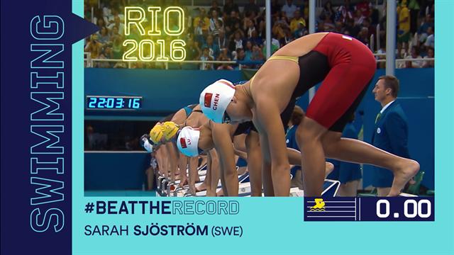 #Beattherecord – Sarah Sjostrom's incredible world record