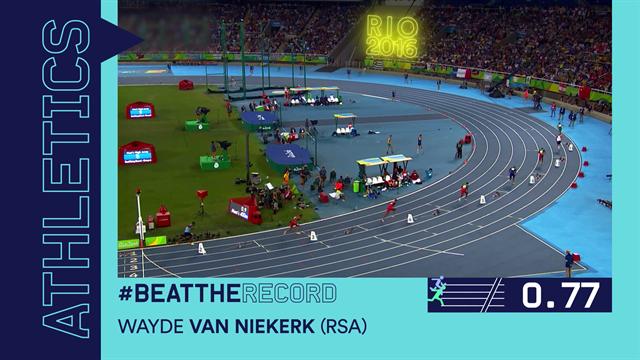 #Beattherecord : Van Niekerk, un tour de piste pour l'histoire