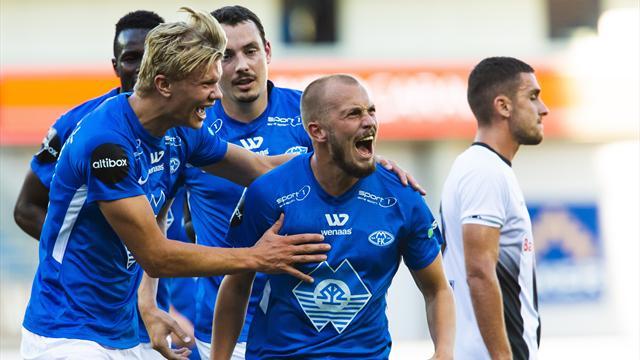 Håland-scoring da Molde dominerte mot albanske Laci