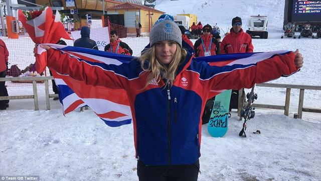 British snowboard champion Ellie Soutter dies on 18th birthday