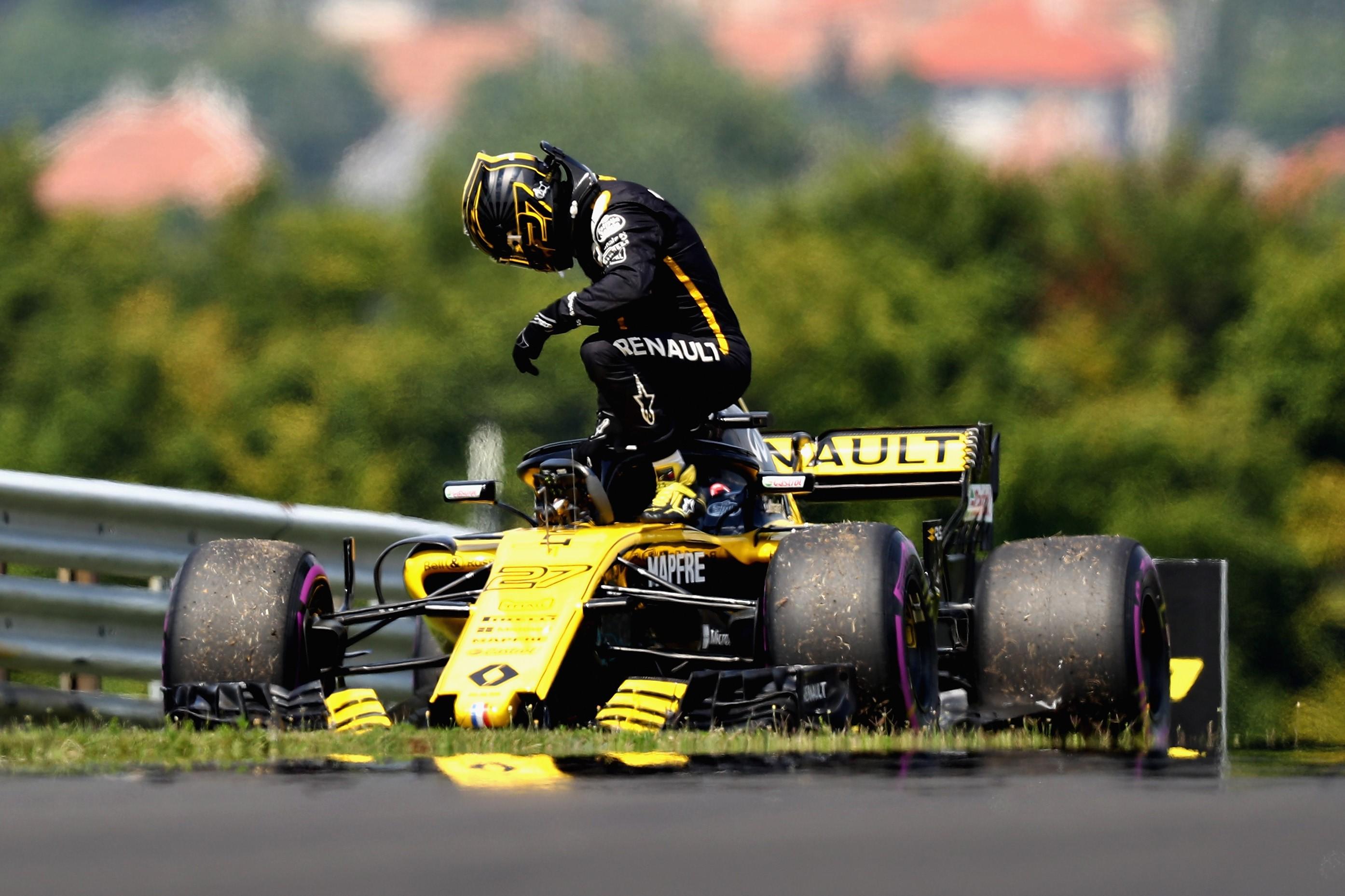 Nico Hülkenberg (Renault) au Grand Prix de Hongrie 2018