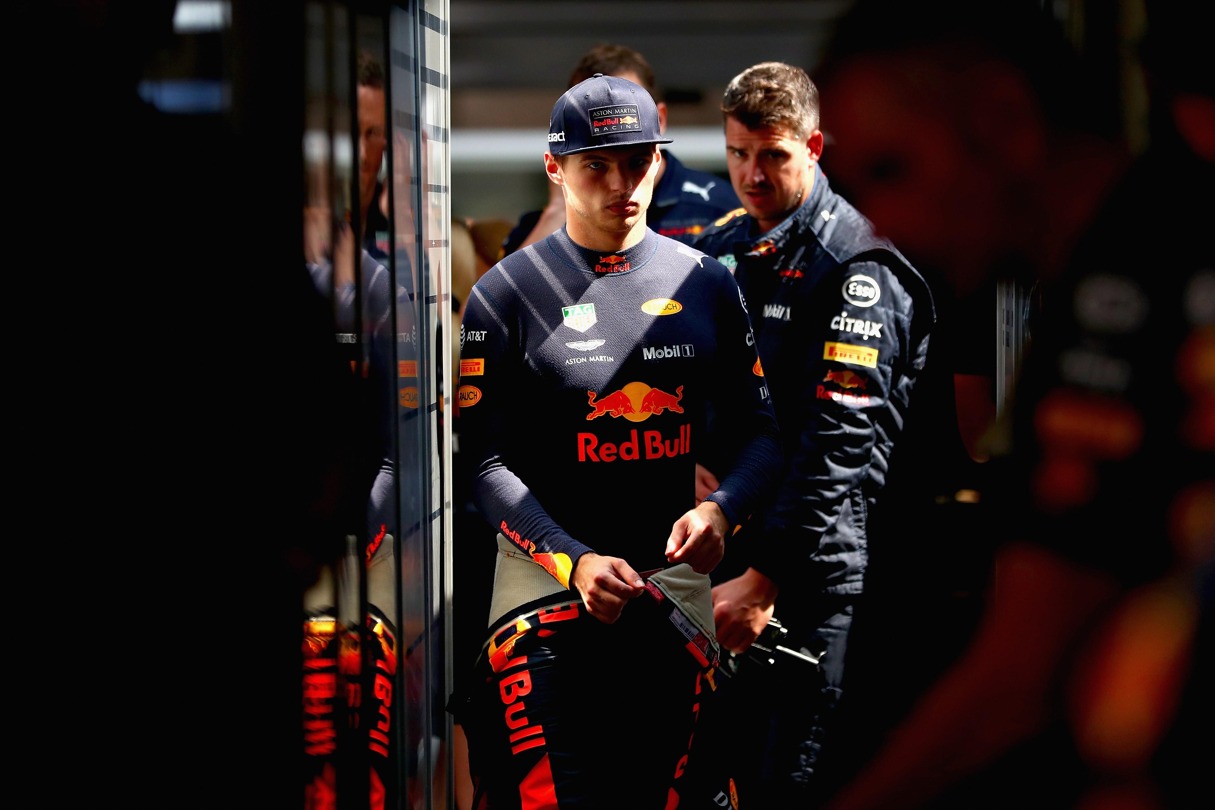 Max Verstappen (Red Bull) au Grand Prix de Hongrie 2018