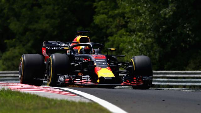 Libres 1 : Ricciardo attaque fort