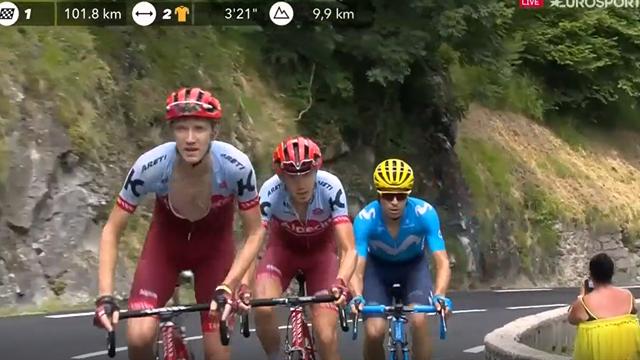Tour de Francia 2018: El valiente ataque de Landa que rompió la carrera en el Tourmalet