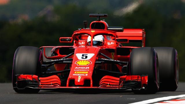 Libres 2 : Vettel prend la main, Hamilton cinquième