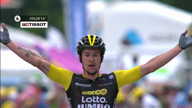 Fransa Bisiklet Turu: 19. etabın son anları