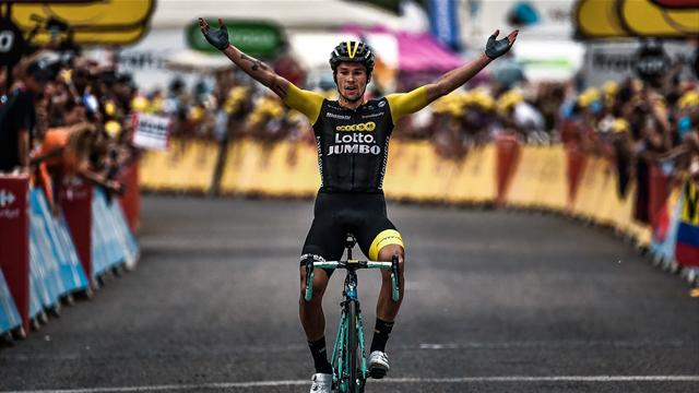 Thomas extends lead as rampant Roglic zips to Stage 19 win