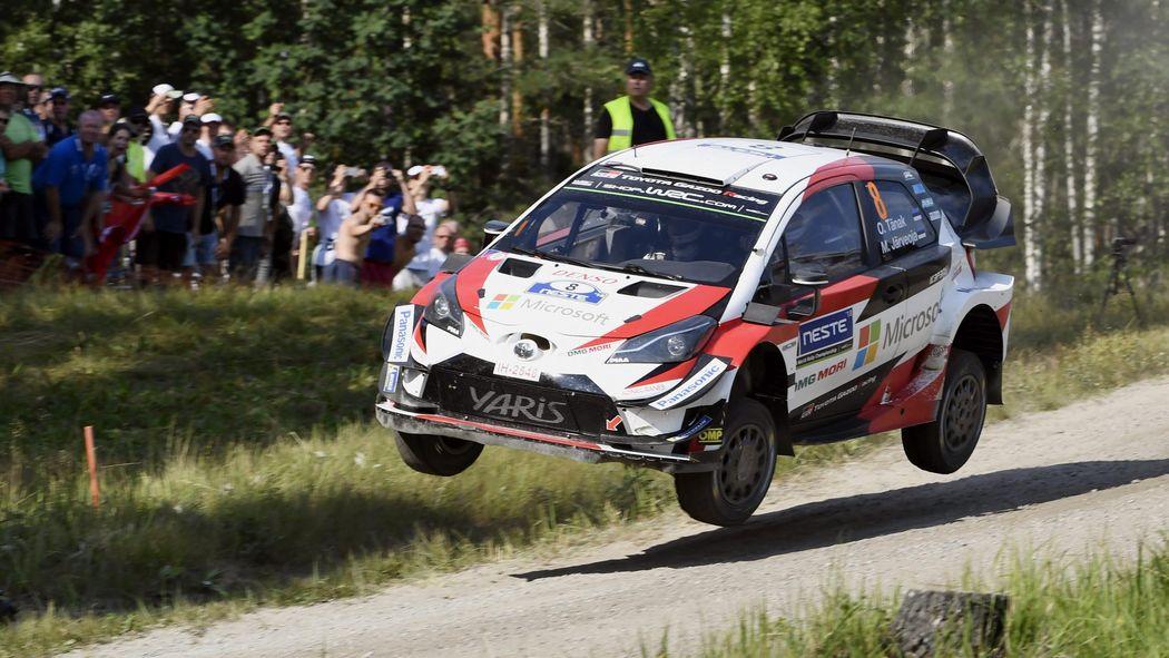Rallye wrc finlande 2018