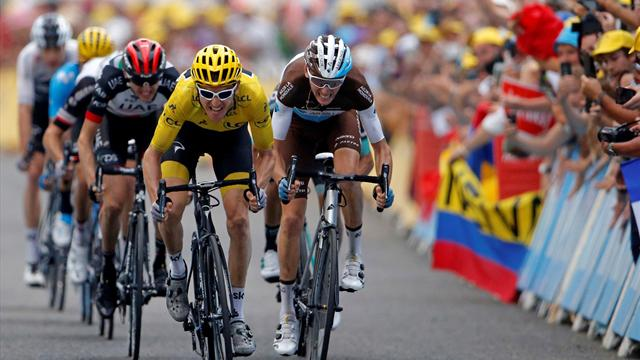 Thomas poised to win Tour de France as Froome salvages podium finish
