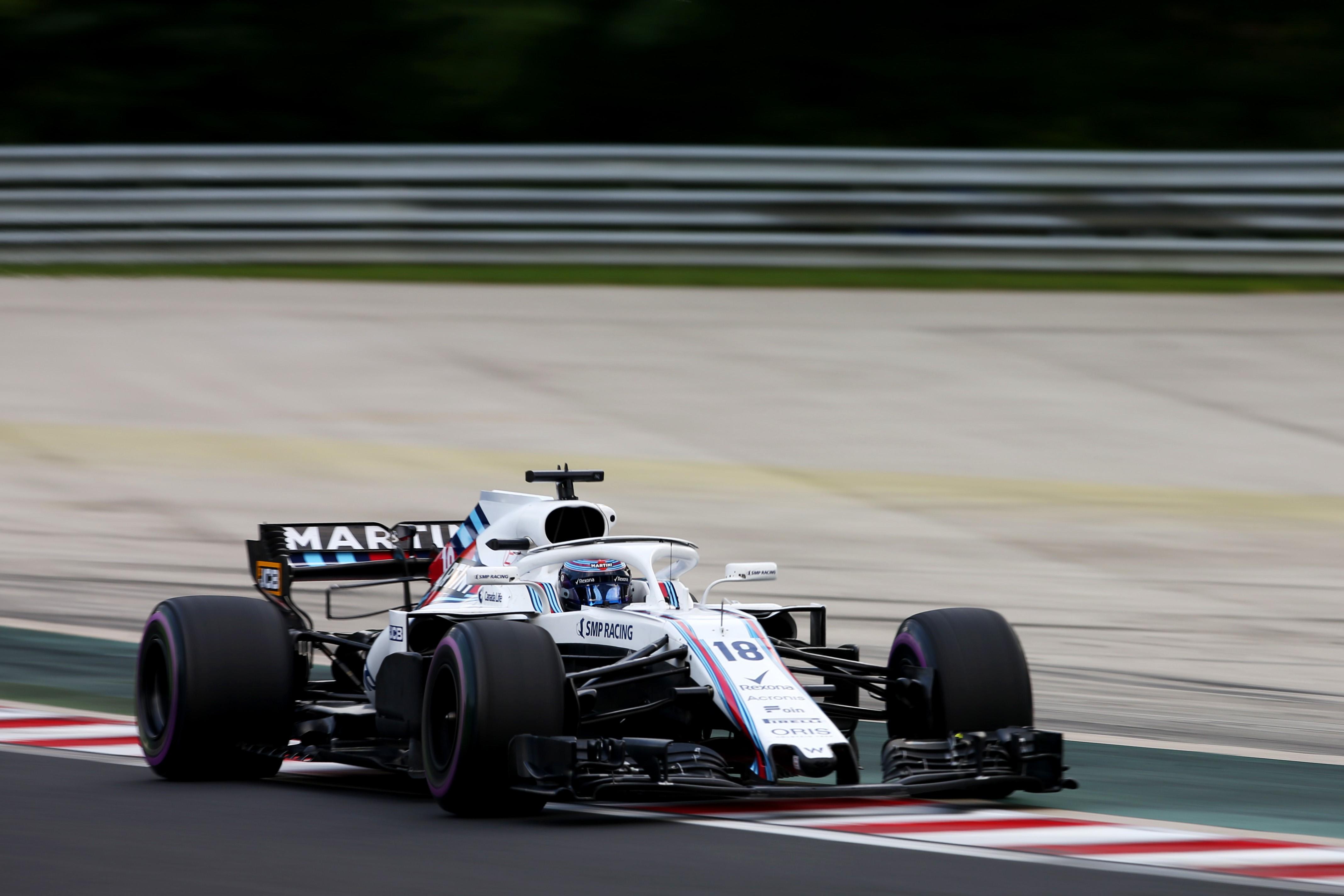 Lance Stroll (Williams) au Grand Prix de Hongrie 2018