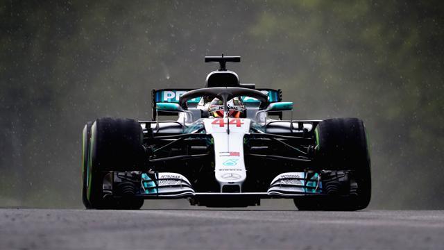 """Hamilton dominiert Regen-Quali: """"War das gut, oder was?"""""""