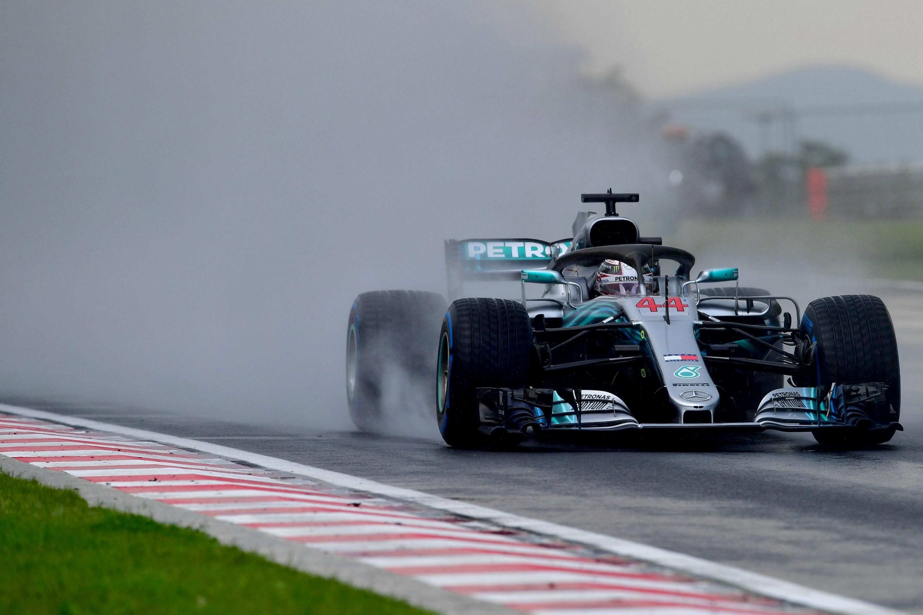 Lewis Hamilton (Mercedes) au Grand Prix de Hongrie 2018