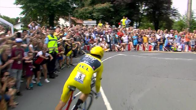Англичанин Томас обеспечил себе победу в«Тур деФранс»