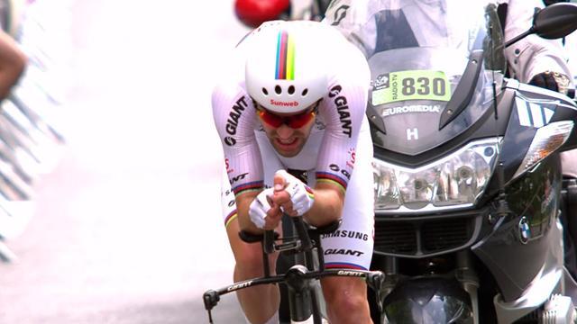 Tour de Francia2018: Tom Dumoulin vence la contrarreloj previa al gran final en París